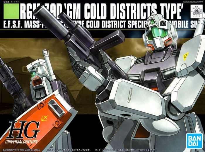 High Grade RGM-79D GM Cold Districts Type Box