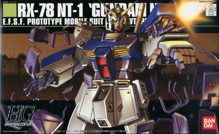 High Grade RX-78 NT-1 Box