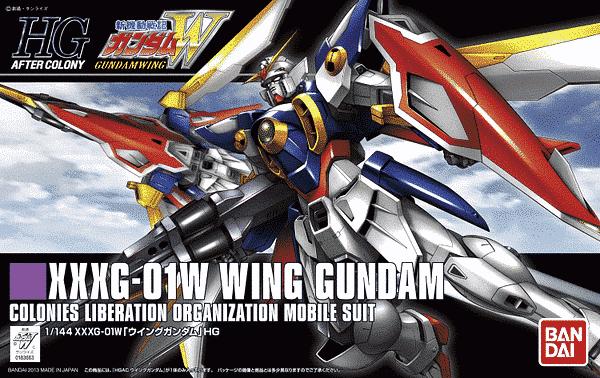High Grade Wing Gundam Box