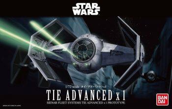 1/72 Tie Advance X1 Box