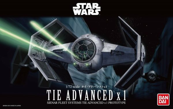 1/72 Tie Advance X1 Box