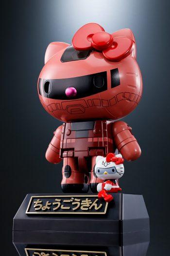 Hello Kitty x Gundam Chogokin - Char's Zaku II