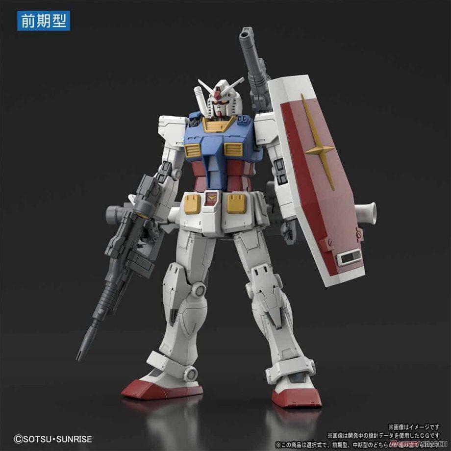Gundam The Origin 1/144 High Grade RX-78-02 Gundam Pose 1