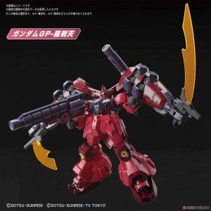High Grade Gundam GP-Rase-Two Ten Pose 1