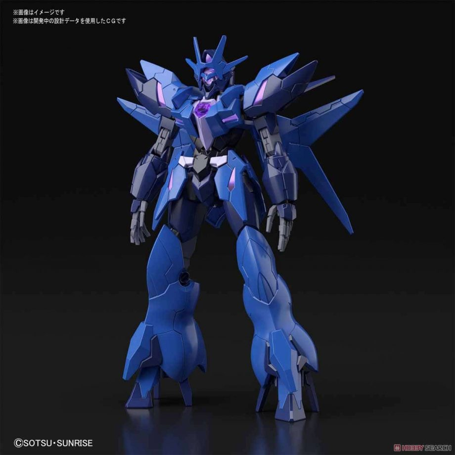 High Grade Enemy Gundam - Tentative Pose 2