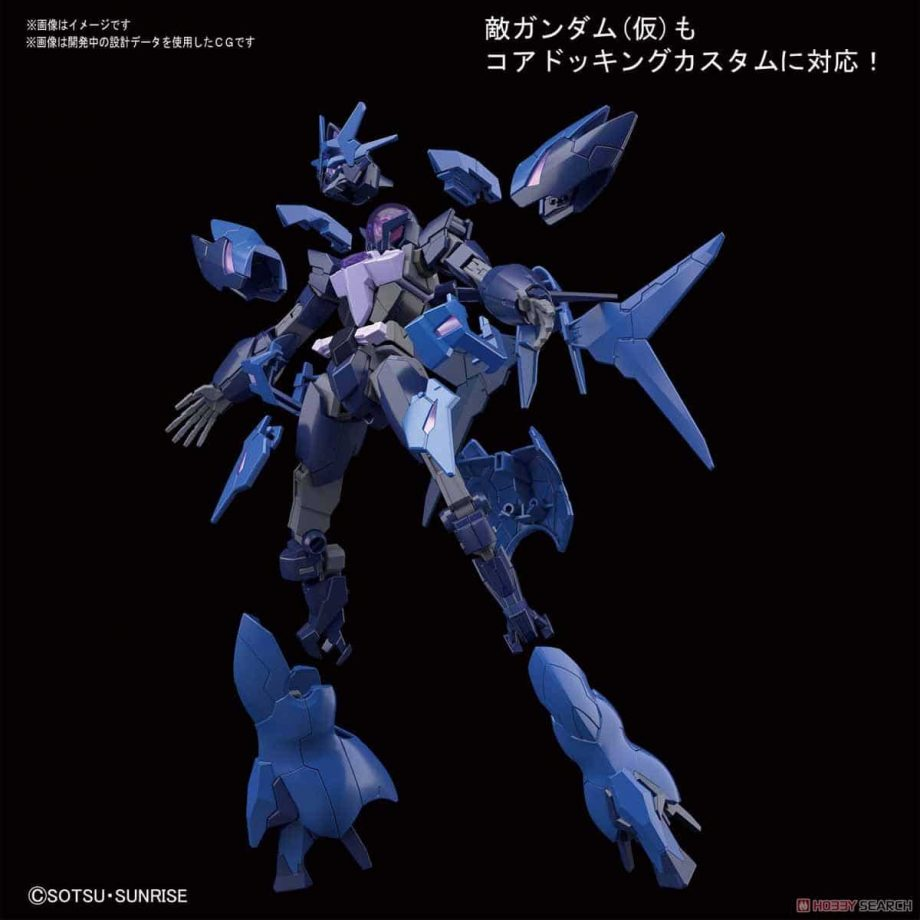 High Grade Enemy Gundam - Tentative Pose 3