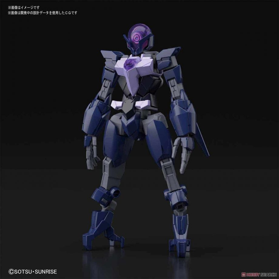High Grade Enemy Gundam - Tentative Pose 4