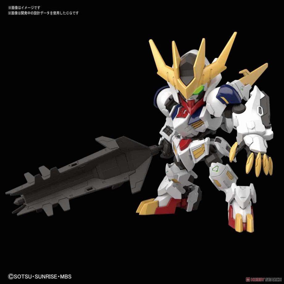 SDGCS Gundam Barbatos Lupus Rex Pose 1