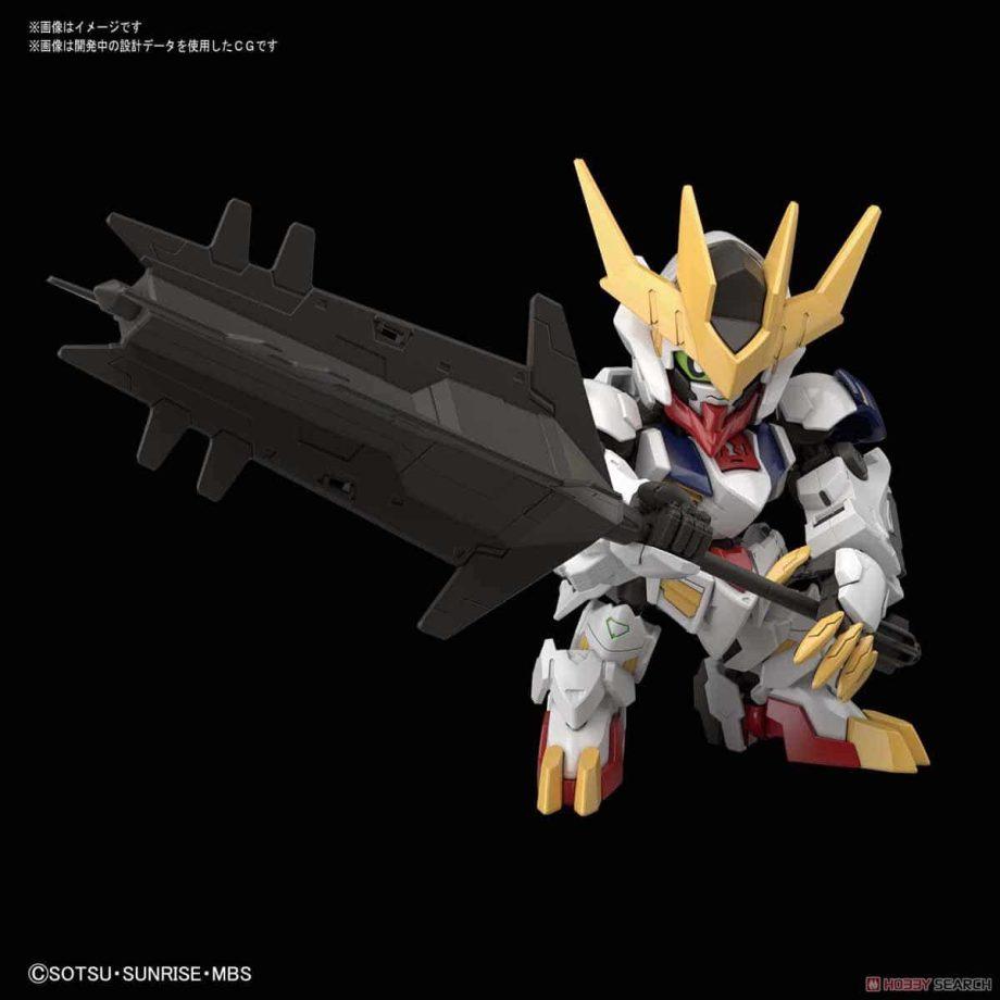 SDGCS Gundam Barbatos Lupus Rex Pose 2