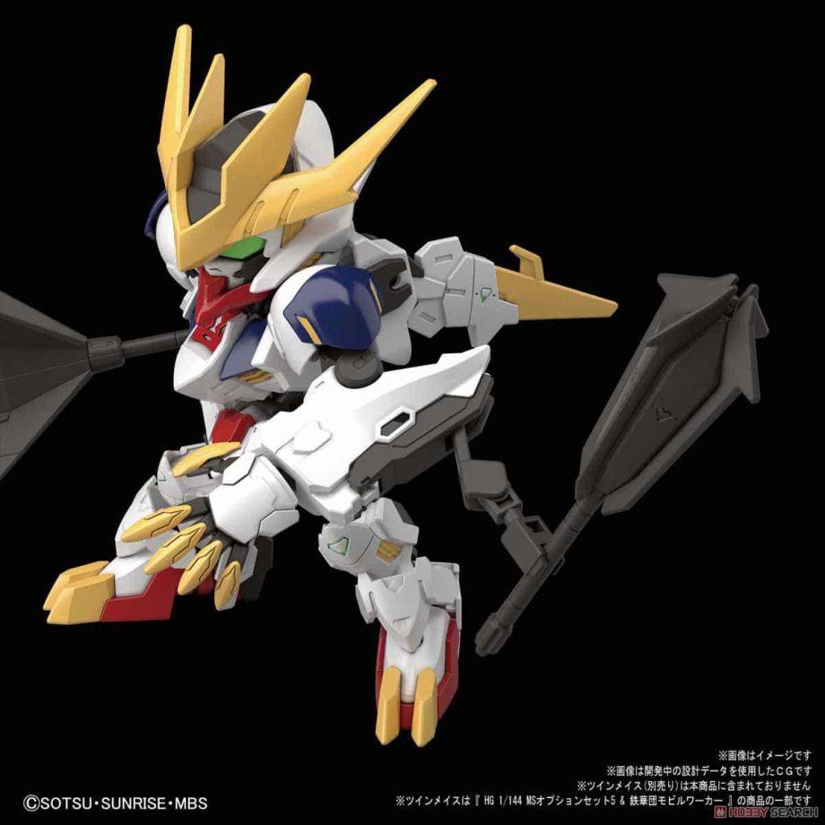 SDGCS Gundam Barbatos Lupus Rex POse 4