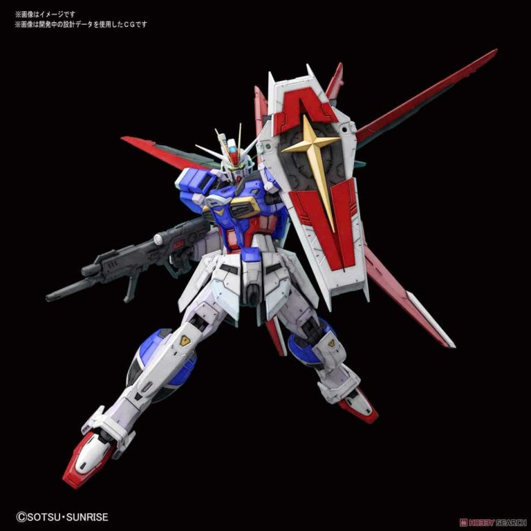 Real Grade Force Impulse Gundam Pose 1