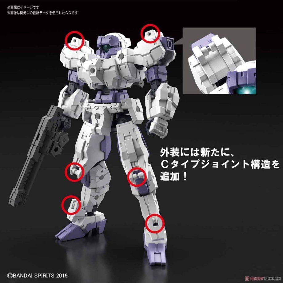 eEMX-21 Rabiot White Pose 3