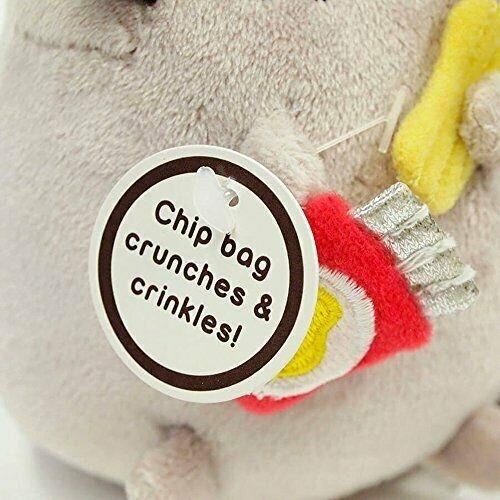 Pusheen Chips Plush with Clip Pose 3