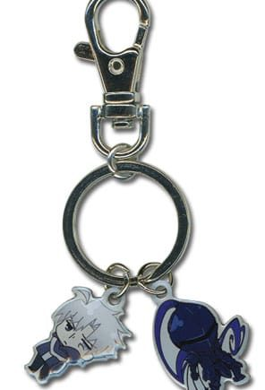 Kariya and Berserker Metal Keychain Pose 1