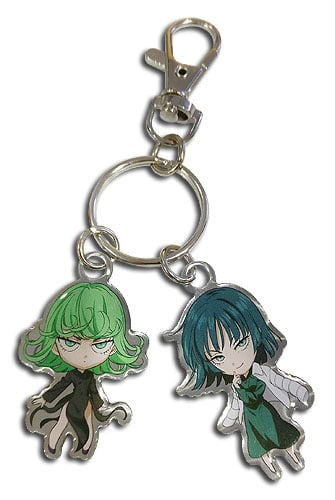 Tornado and Blizzard Metal Keychain Pose 1