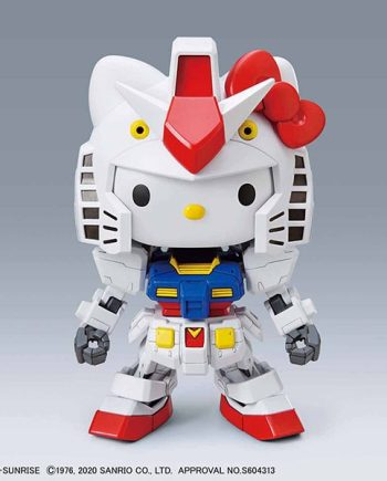 EX-Standard Hello Kitty/RX-78-2 Pose 1