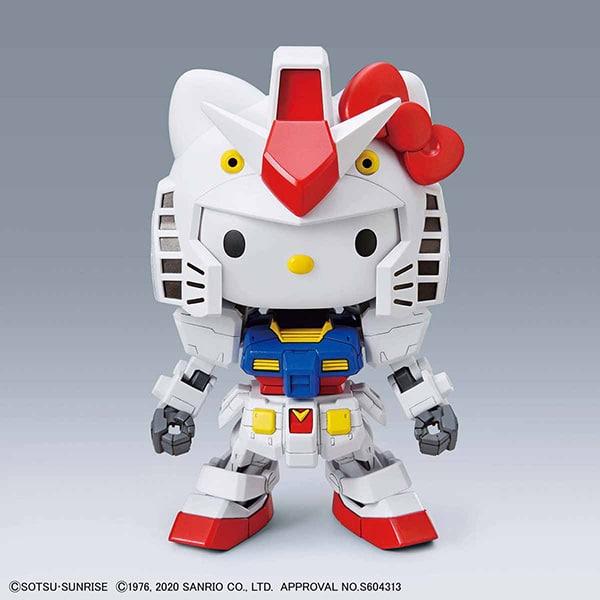 EX-Standard Hello Kitty/RX-78-2 Pose 1
