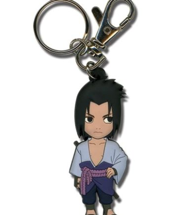 SD Sasuke PVC Keychain Version 2 Pose 1