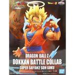 Dragon Ball Z: Dokkan Battle Collab Super Saiyan 2 Goku Statue Box