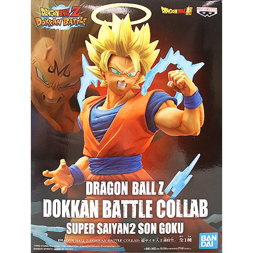 Dragon Ball Z: Dokkan Battle Collab Super Saiyan 2 Goku Statue Box