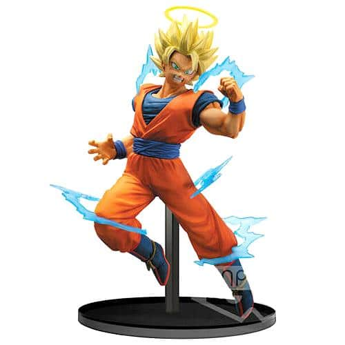 Dragon Ball Z: Dokkan Battle Collab Super Saiyan 2 Goku Statue Pose 1