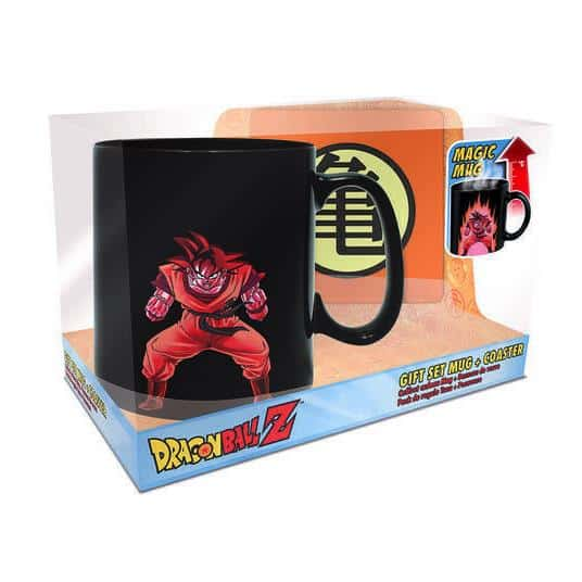 Goku Magic Mug & Coaster Gift Set Box