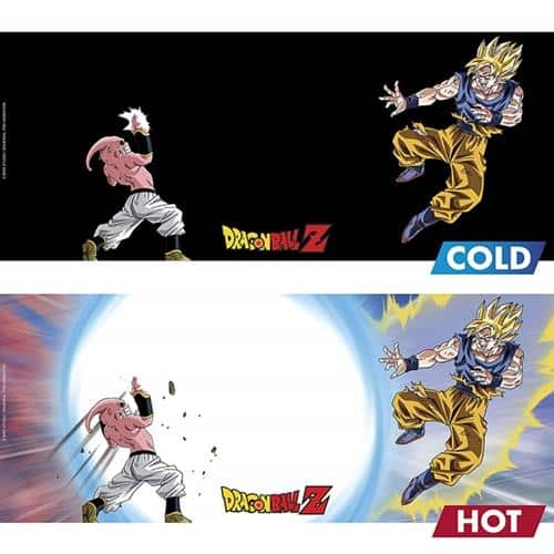 Goku vs Kid Buu Magic Mug & Coaster Gift Set Pose 3