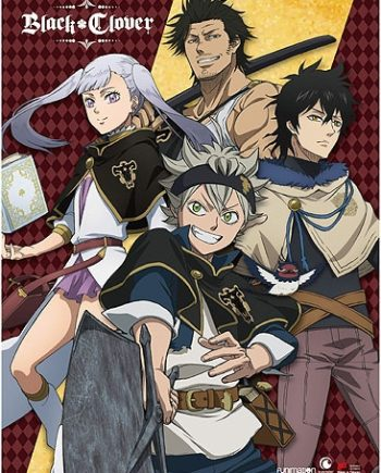 Black Clover: Group Wall Scroll Pose 1
