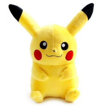Happy Pikachu Plushie Pose 1