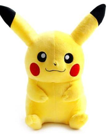 Happy Pikachu Plushie Pose 1