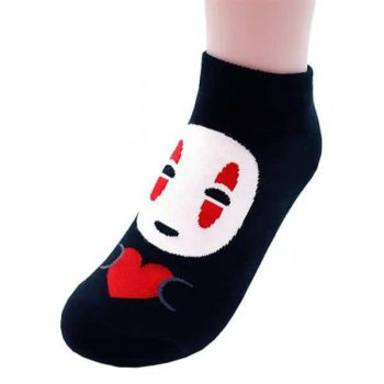 No Face Socks Pose 1