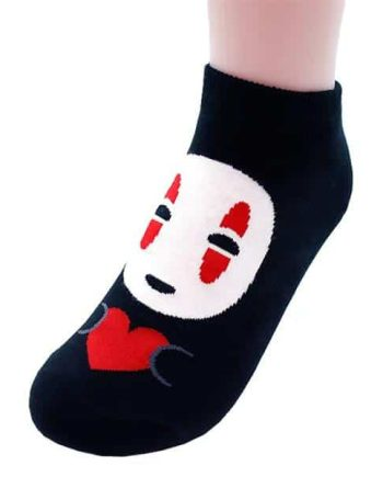No Face Socks Pose 1