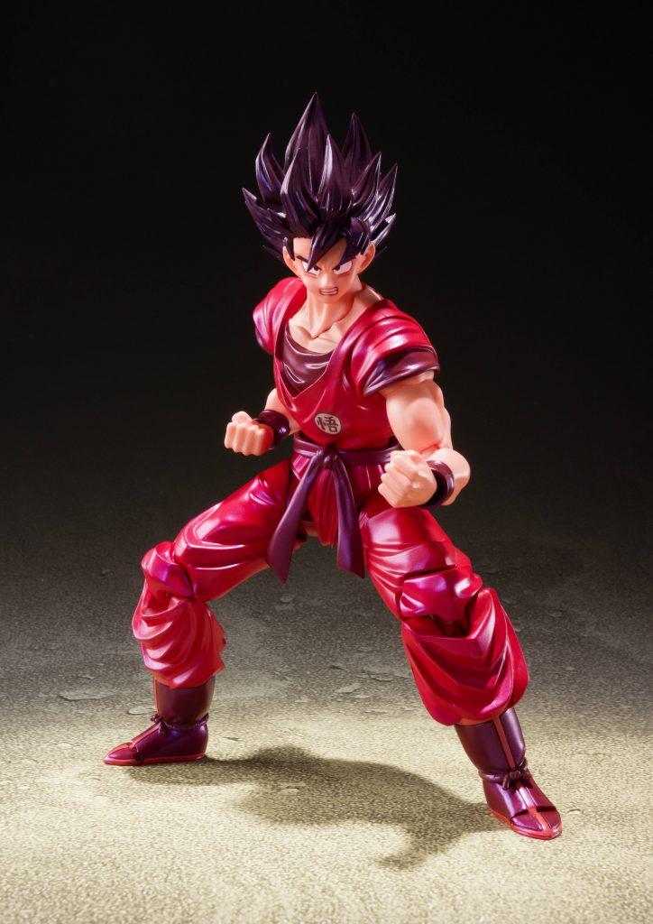 Son Goku Kaioken SH Figuarts Pose 1
