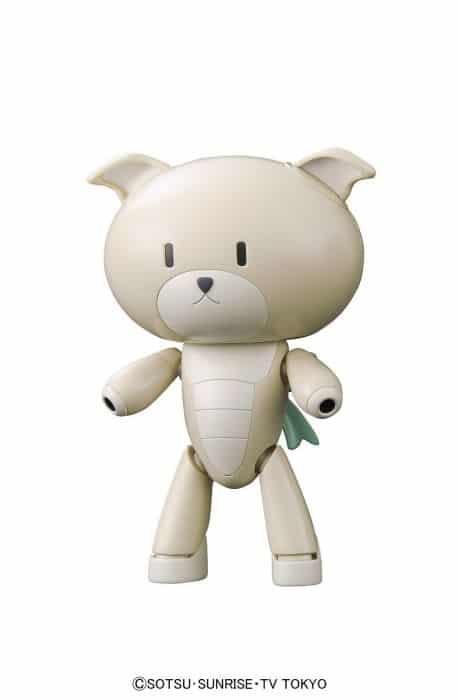 Gundam Petit'Gguy WoofWoofWhite & Dogcos Pose 1