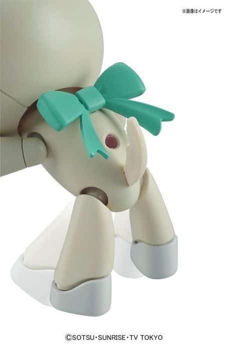 Gundam Petit'Gguy WoofWoofWhite & Dogcos Pose 4