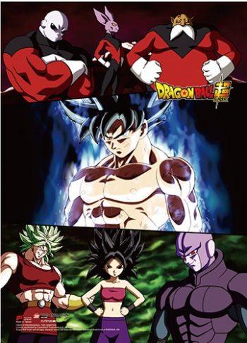 Goku & Group Wall Scroll Pose 1