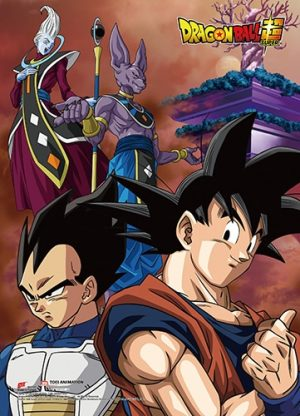 Battle of the Gods Group 12 Wall Scroll Pose 1