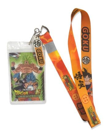 Dragon Ball Super Goku Lanyard Pose 1