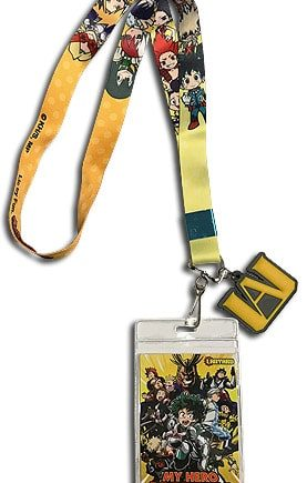 My Hero Academia SD Group Lanyard Pose 1