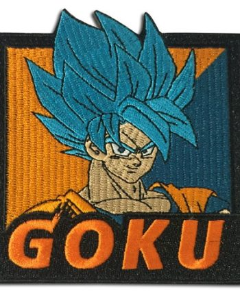 Super Saiyan Blue Goku Patch Pose 1