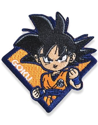 Goku Patch Pose 1