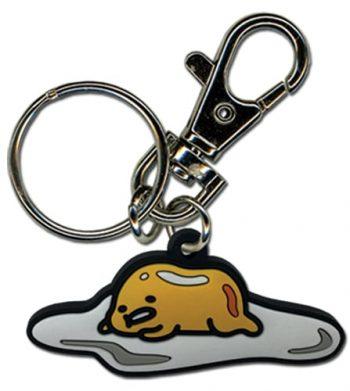 Gudetama PVC Keychain Pose 1