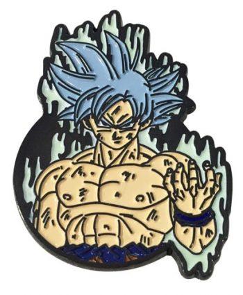 Ultra Instinct Goku Pin Pose 1
