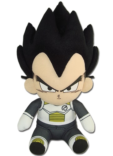 Vegeta Sitting Plush Pose 1