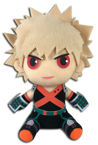 Bakugo Sitting Plush Pose 1