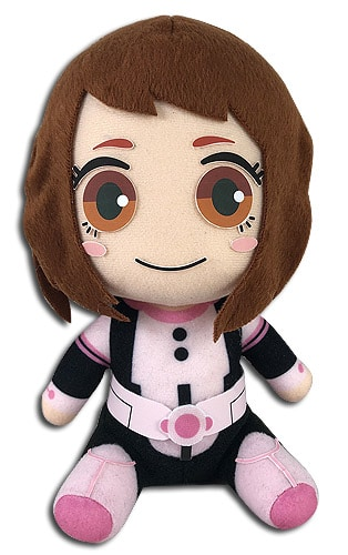 Ochaco Sitting Plush Pose 1