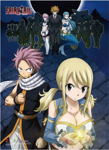 Fairy Tail S7 Group 2 Wall Scroll Pose 1