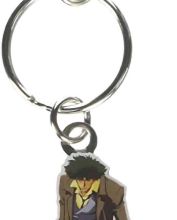 Spike Metal Keychain