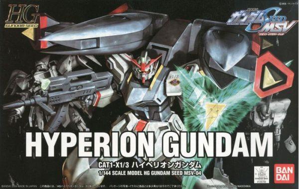 High Grade Hyperion Gundam Box
