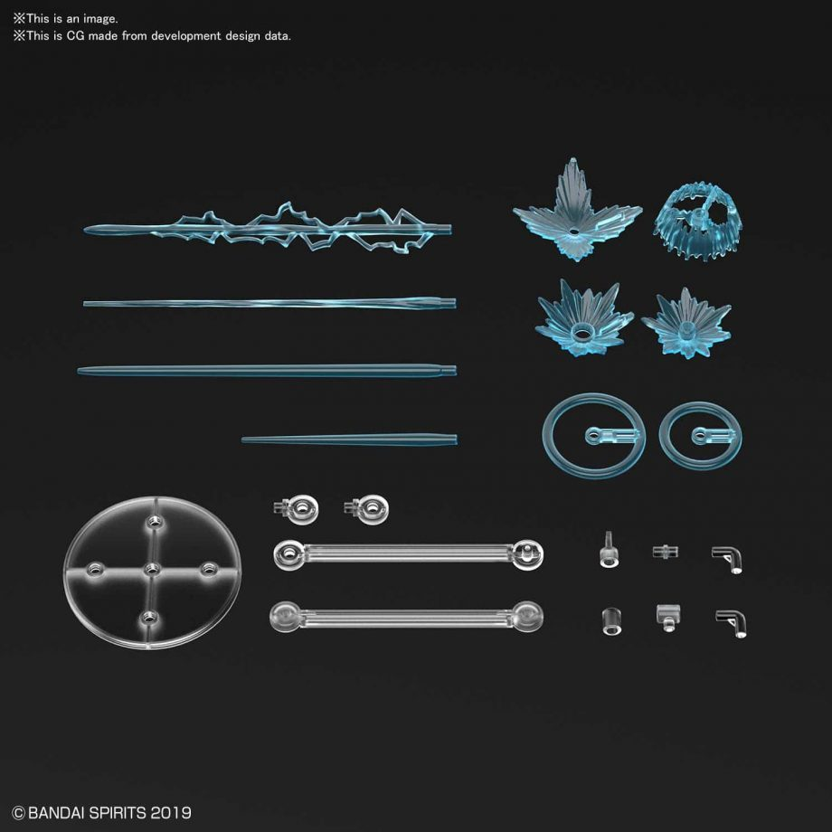 Customize Effect Gunfire Image Ver Blue Pose 4